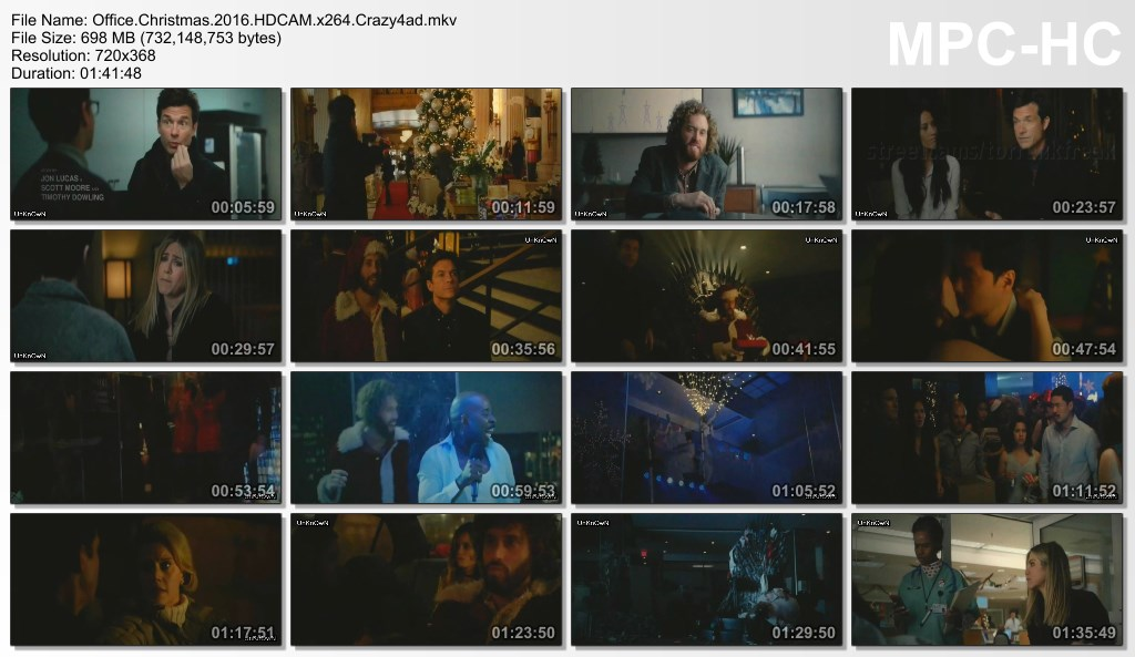 Office Christmas Party 2016 HDCAM x264 Crazy4ad